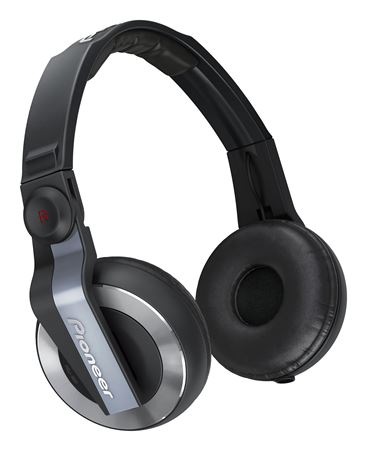 Pioneer HDJ500K DJ headphones in Black