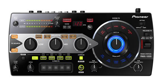 Pioneer RMX1000 Remix Station DJ Effects Controller