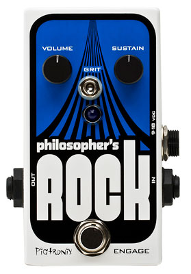 Pigtronix Philosopher's Rock Compressor Sustainer Guitar Pedal
