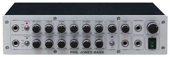 Phil Jones Bass D600 Digital Bass Guitar Amplifier