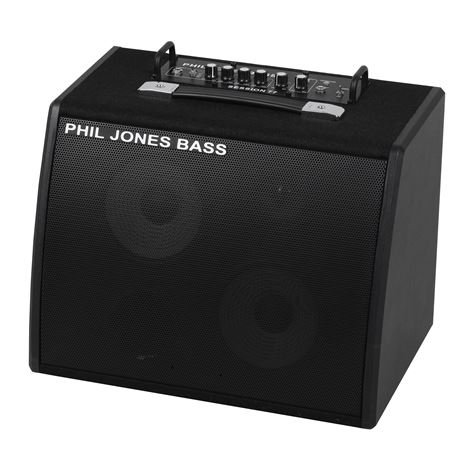 Phil Jones Bass Session 77 Bass Guitar Combo Amplifier 2x7in 100 Watts
