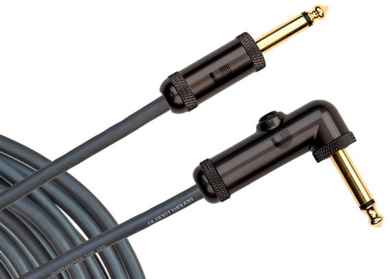 Planet Waves Circuit Breaker Guitar Cable with Right Angled Plug
