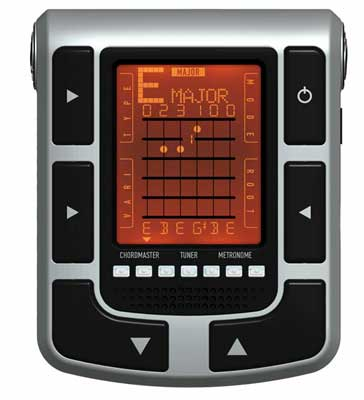 Planet Waves CTM Chordmaster Chord Finder wTuner & Metronome