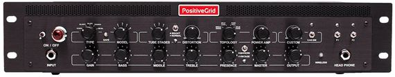 Positive Grid Bias Rack Processor Preamp