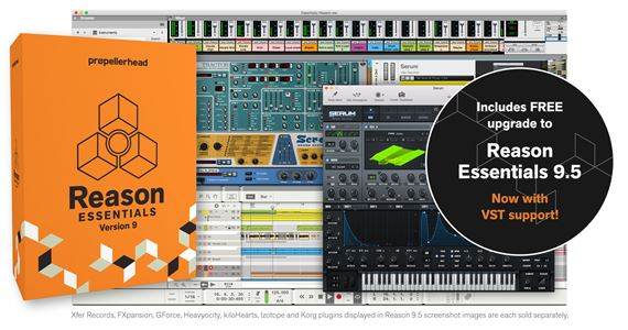 Propellerhead Reason 9 Essentials Music Production Software