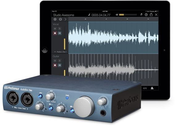 PreSonus AudioBox iTwo USB and iPad Audio Interface