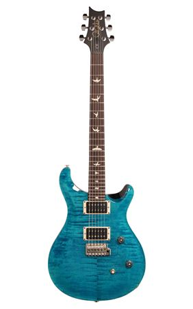 PRS CE24 Custom Color Aquableux with Black Back and Neck with Gigbag