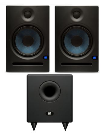 PreSonus E8 Eris Monitor T8 Temblor Subwoofer Package