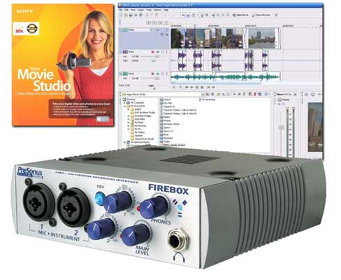 PreSonus Firebox 6x10 FireWire Audio Interface