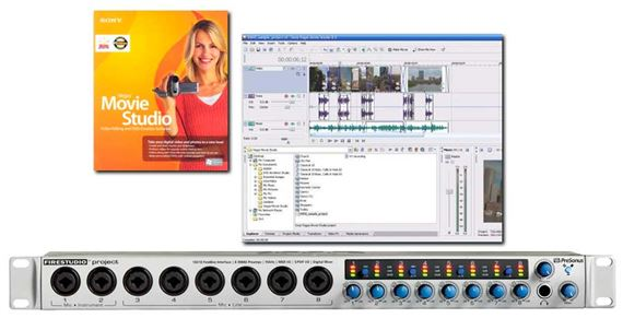 PreSonus FireStudio Project FireWire Audio Interface