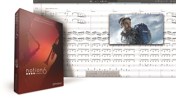 PreSonus Notion 6 Notation Software Box With Download Key