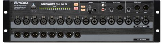 PreSonus StudioLive RML16AI 16 Channel Digital Rack Mount Mixer