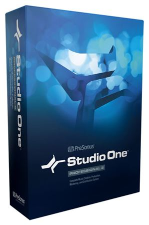 PreSonus Studio One Professional 2 Multitrack Digital Audio Workstation Production Software