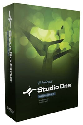 PreSonus Studio One Producer Software Version 2.0