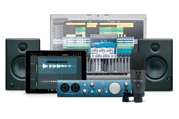 PreSonus Studio One 3 Recording Bundle