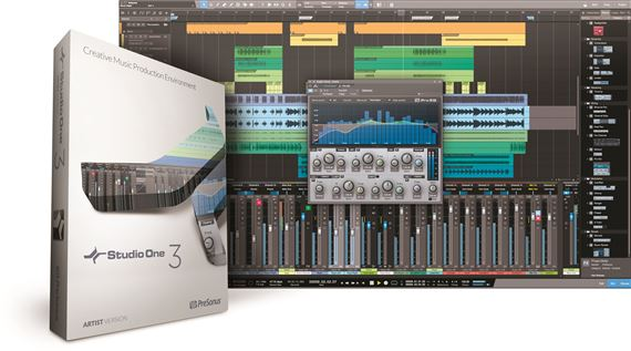 PreSonus Studio One Artist 3.0 Boxed with Product Key Card