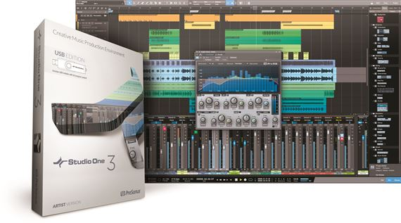PreSonus Studio One Artist 3.0 USB Edition