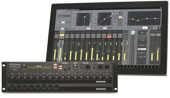 PreSonus StudioLive RM16 AI Rack Mounted Digital Mixer