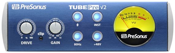 PreSonus TubePre Version 2 Microphone Preamp