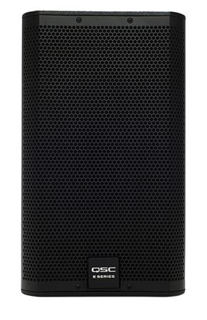 "QSC E10 300 Watt 10"" 2-Way Full-Range Passive Loudspeaker Black"