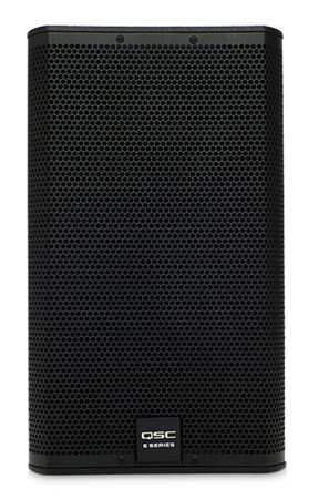 "QSC E12 400 Watt 12"" 2-Way Full-Range Passive Loudspeaker Black"