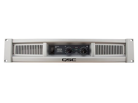 QSC GX3 425 Watt Two Channel Stereo Power Amplifier
