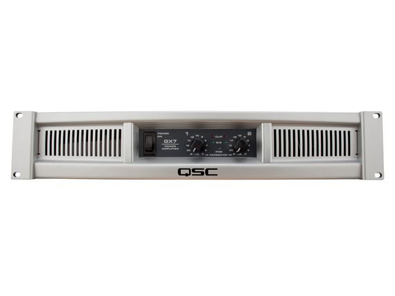 QSC GX7 1000 Watt Two Channel Stereo Power Amplifier