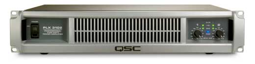 QSC PLX3102 1000 Watt 2 Channel Lightweight Power Amplifier