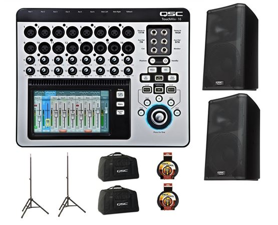 QSC TouchMix-16 Digital Mixer With K12 Pair Pack