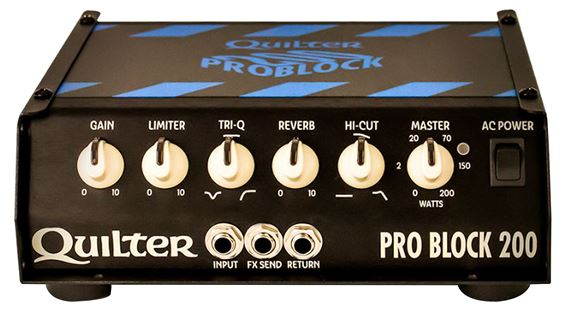Quilter ProBlock 200 Guitar Amplifier Head with Reverb 200 Watts