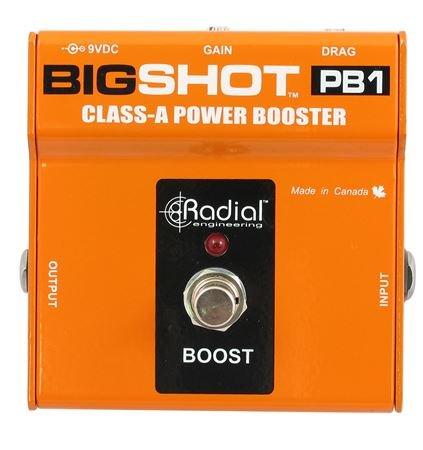 Radial Big Shot PB1 Class A Power Booster Pedal