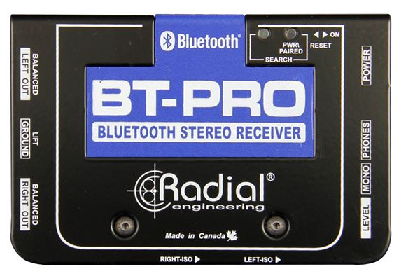 Radial BT-Pro Bluetooth Wireless Direct Box