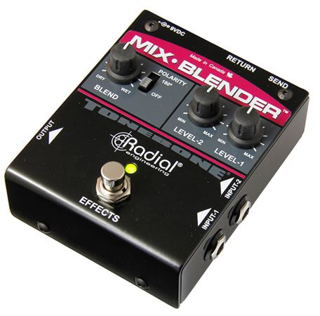 Radial ToneBone Mix-Blender Instrument And Effects Mixer Pedal