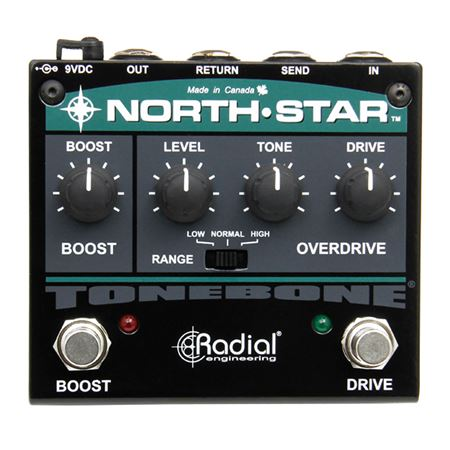Radial Tonebone North Star Clean Overdrive And Power Booster