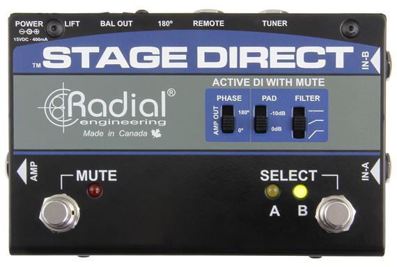 RAD STAGEDIRECT LIST Product Image