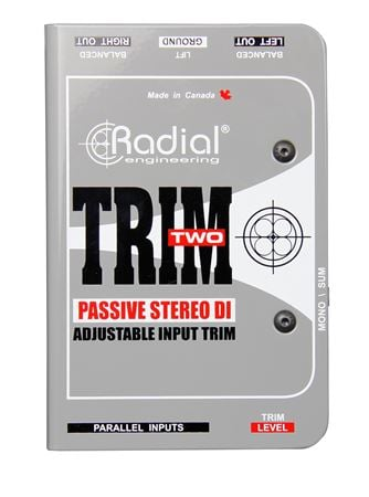 Radial Trim Two Passive Direct Box With Level Control