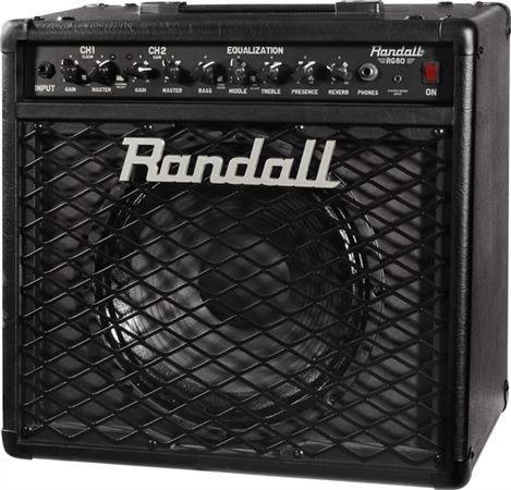 Randall RG80 1x12 Guitar Combo Amplifier