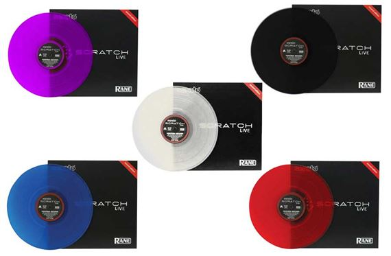 Rane Serato Custom Colored Single Replacement Vinyl