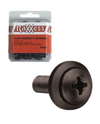 Raxxess Rack Screws With Washers Hardware