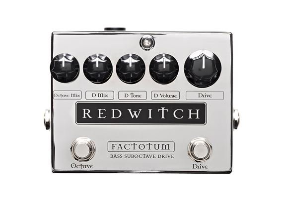 Red Witch Factotum Analog Bass Suboctave Overdrive Pedal