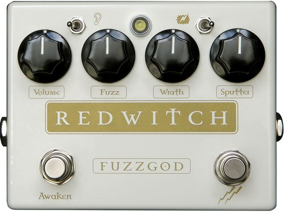 Red Witch Fuzz God II Analog Fuzz Pedal