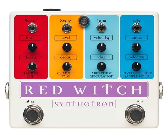 Red Witch Synthotron Analog Guitar Synth Pedal