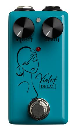 Red Witch Violet Analog Micro Delay Pedal