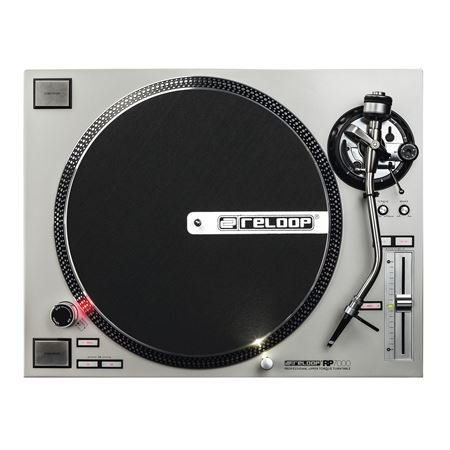 Reloop RP7000 Direct Drive High Torque Turntable in Silver