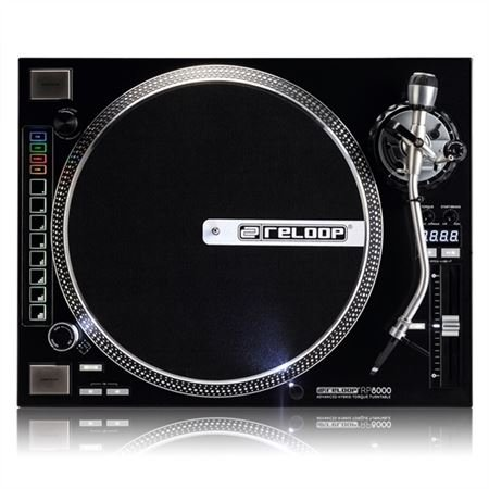 Reloop RP8000 Hybrid Torque Turntable with MIDI