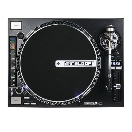 Reloop RP-8000 Straight Direct Drive DJ Turntable