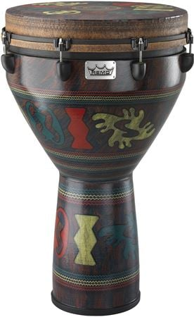 Remo Djembe Key Tune Adinka Finish 16 Inch