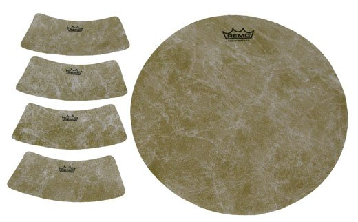 Remo Textured Circle and Semi-Circle Cajon Targets