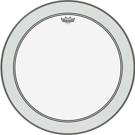 Remo P31322C2 Powerstroke 3 Bass Drum Head Clear 24 Inch