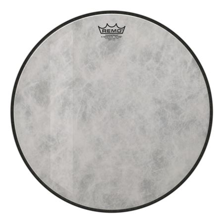 Remo Powerstroke3 Felt Tone Fiberskyn Bass Drum Head